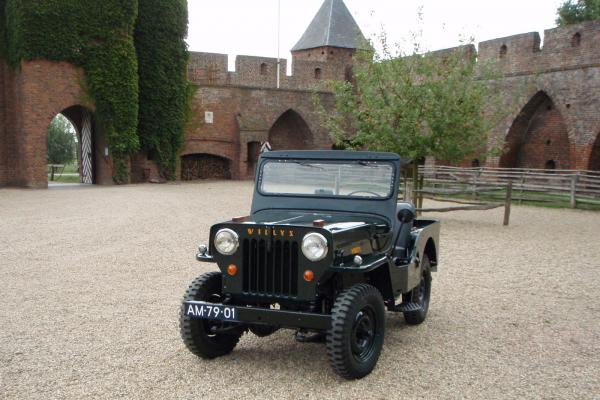 1956 Willys CJ-3B