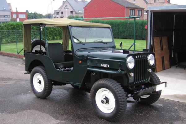 1957 Willys CJ-3B