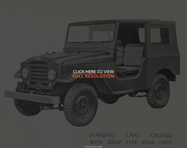 1958 Toyota Land Cruiser