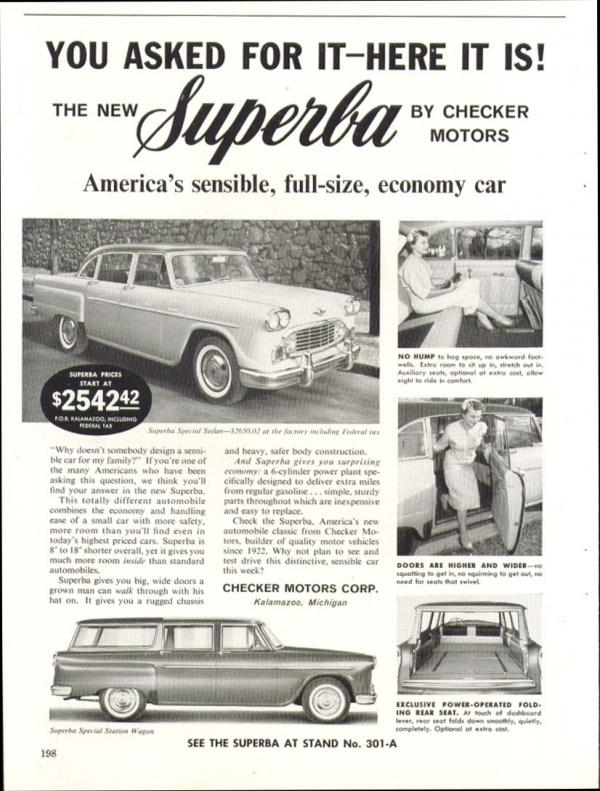 1960 Checker Superba