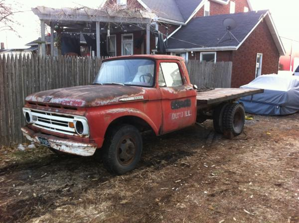 1962 Ford F350