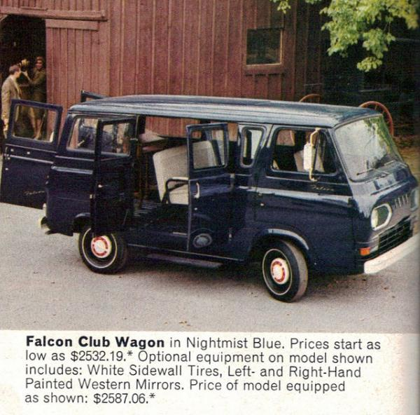 1967 Ford Club Wagon