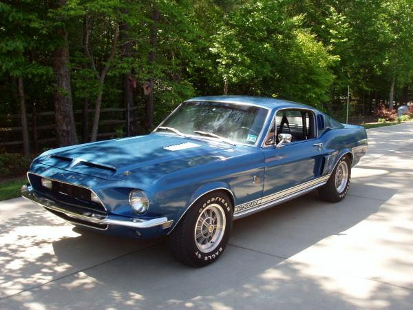 1968 Ford Mustang Shelby GT