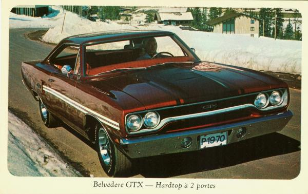 1970 Plymouth Belvedere