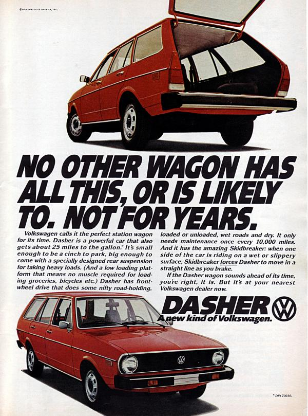 1975 Volkswagen Dasher