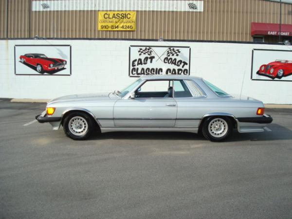 1981 Mercedes-Benz 380SLC