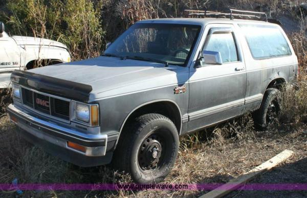 1984 GMC S-15 Jimmy
