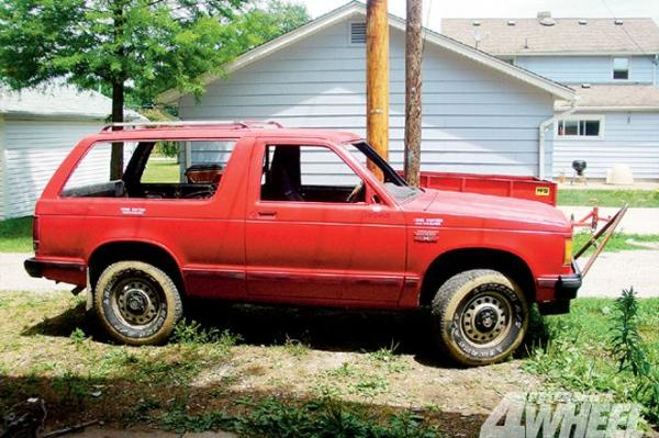 1985 GMC S-15 Jimmy
