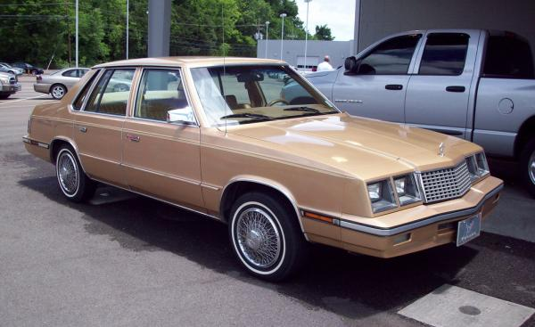 1986 Plymouth Caravelle