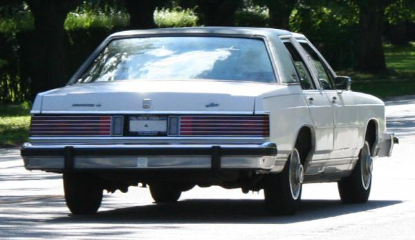 1987 Mercury Grand Marquis