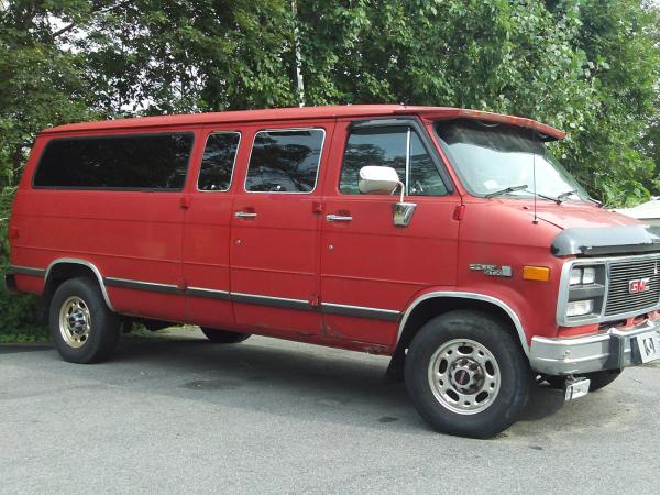 1992 GMC Rally Wagon