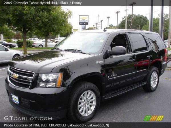 2009 chevrolet tahoe hybrid information and photos momentcar. Black Bedroom Furniture Sets. Home Design Ideas
