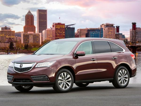 Acura 2014 MDX provides better aerodynamics