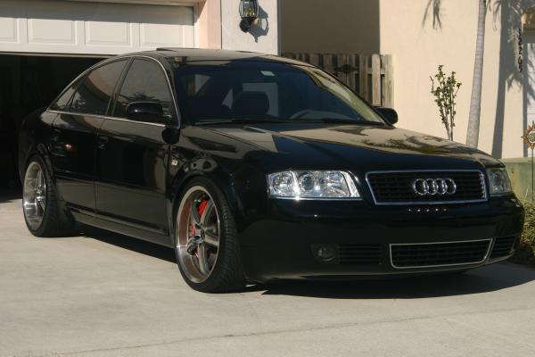 Audi 2002 A6, an attractive and efficient model