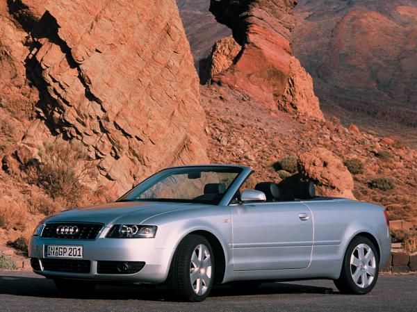 Audi 2003 A4 Cabriolet: when dream has no borders