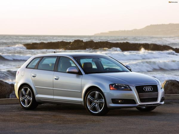 Audi 2008 A3 makes life brighter