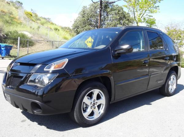 Aztek SUV, maybe the worst pontiac 2005 car