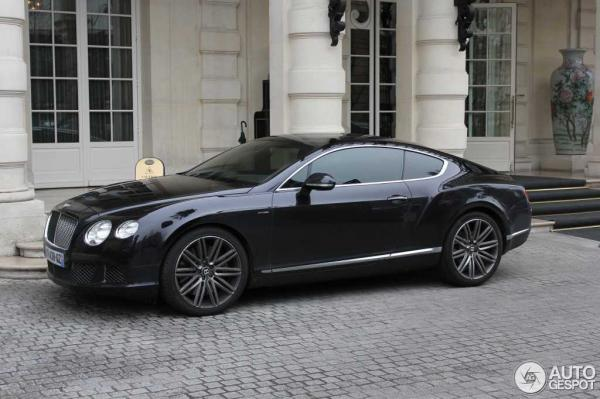 Bentley Continental GT Speed 2014 #4