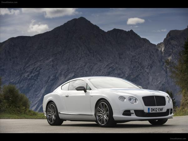 Bentley Continental GT Speed #4