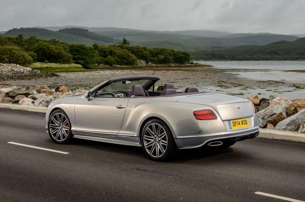Bentley Continental GT Speed Convertible #2