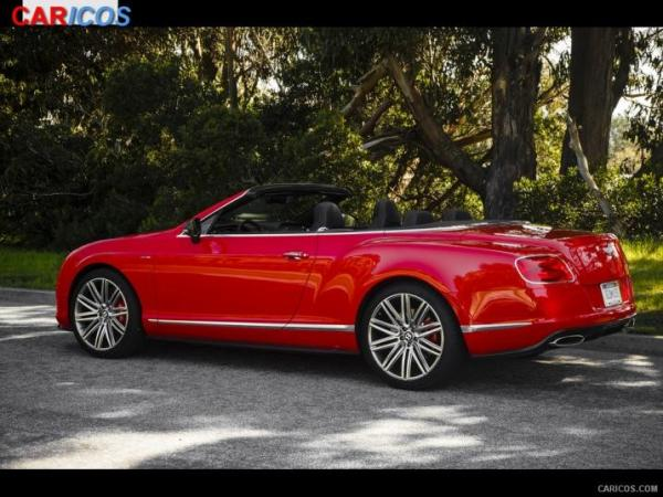 Bentley Continental GT Speed Convertible 2014 #5