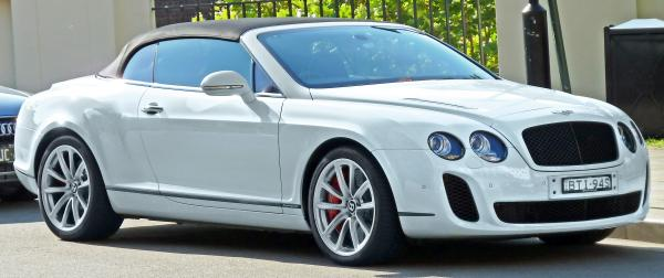 Bentley Continental Supersports Convertible 2011 #3