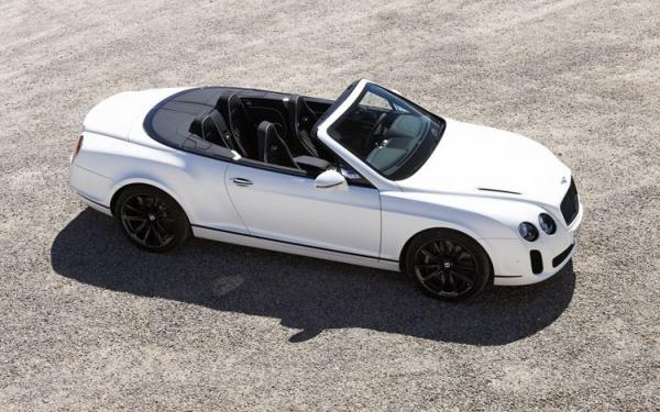 Bentley Continental Supersports Convertible Base #1