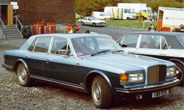 Bentley Mulsanne Turbo 1982 #3