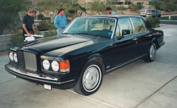 Bentley Mulsanne Turbo 1984 #3