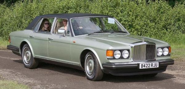 Bentley Mulsanne Turbo 1984 #4