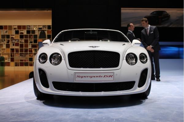 Bentley Supersports Convertible ISR Base #1