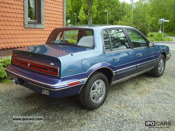 1990 Buick Skylark Information And Photos Momentcar