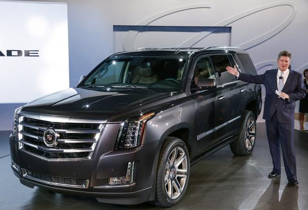 Cadillac 2014 Escalade, a giant SUV originally designed