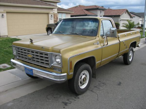 1976 Chevrolet C20 K20 Information And Photos Momentcar