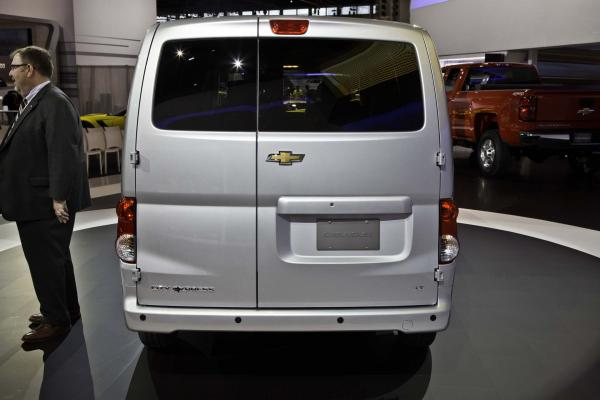 Chevrolet City Express 2015 #4
