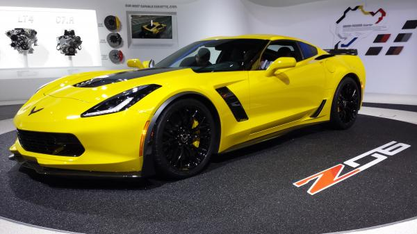 Chevrolet Corvette Stingray 2015 #4