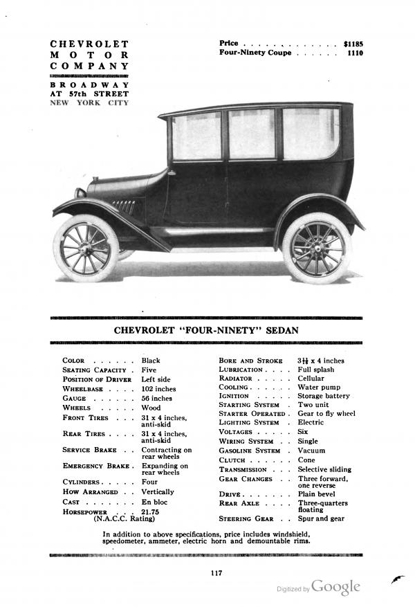 1919 Chevrolet Delivery