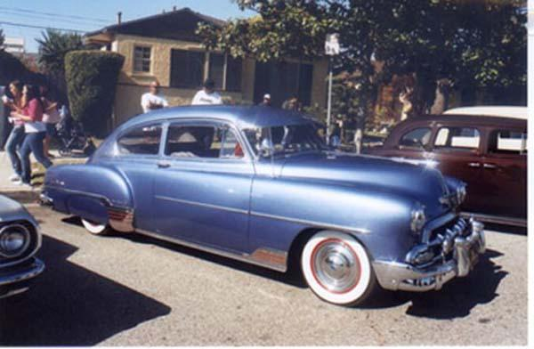 Chevrolet Fleetline 1952 #3