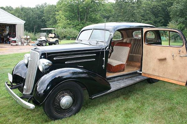 1935 Chevrolet Master Deluxe - Information and photos