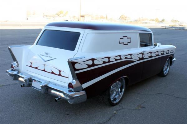 1957 Chevrolet Sedan Delivery - Information and photos