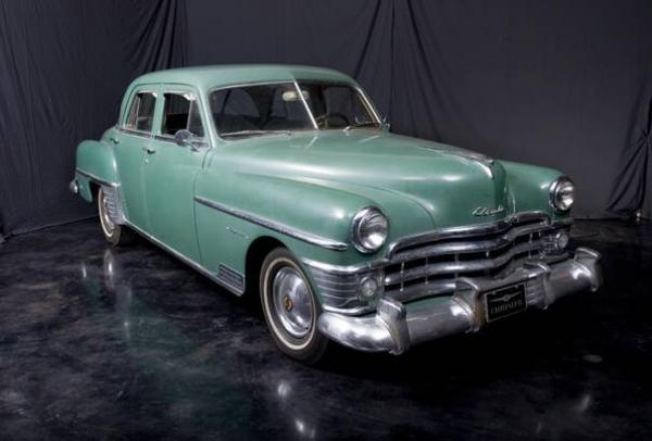 1949 Chrysler Imperial - Information and photos - MOMENTcar