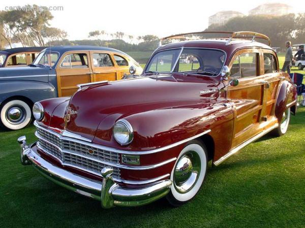 1951 Chrysler Town Amp Country Information And Photos