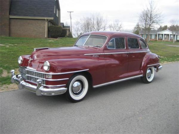 1949 Chrysler Windsor Information And Photos Momentcar