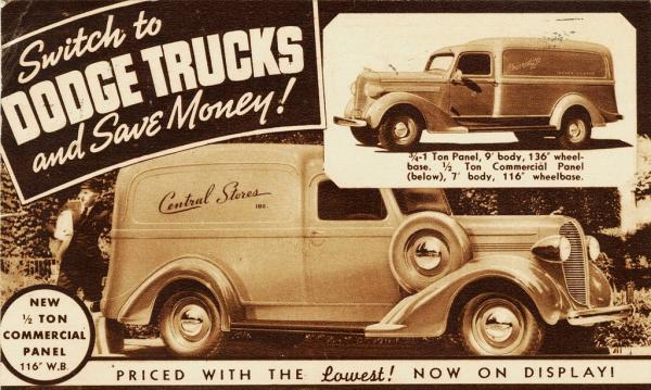 1938 Dodge Commercial