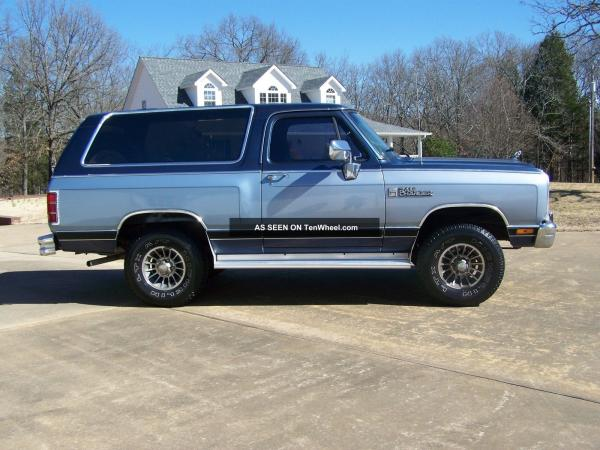 Dodge Ramcharger 150 S #4