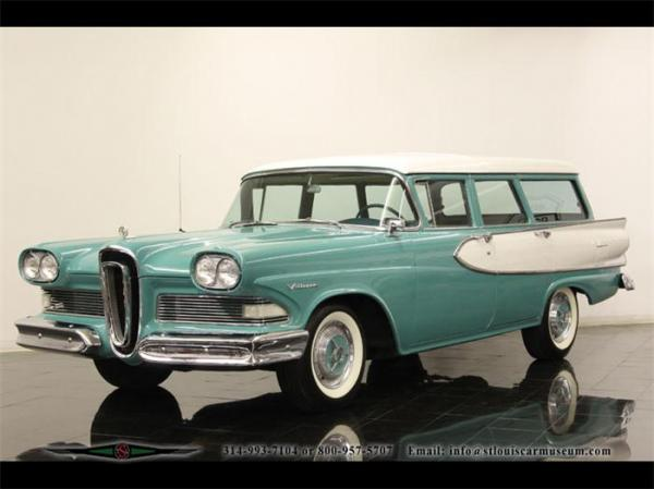 Edsel Villager 1958 #1