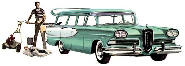 Edsel Villager 1958 #3