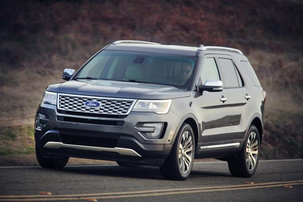 Ford 2016 Explorer after its upgrading