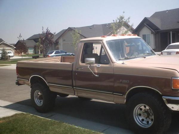 Ford F350 1988 #2