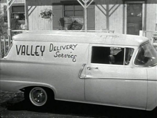 Ford Panel Delivery 1958 #1